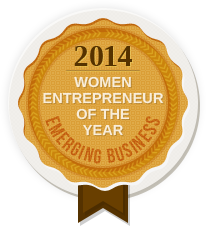 2014 WOMEN ENTREPRENEUR OF THE YEAR - EMERGING BUSINESS
