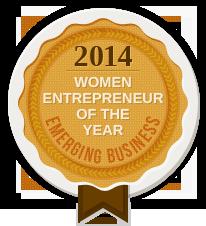 2014 WOMEN ENTREPRENEUR OF THE YEAR - EMERGING BUSINESS